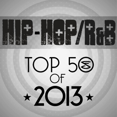 'Top 50 Hip Hop/R&B Songs of 2013' Station  on Slacker Radio