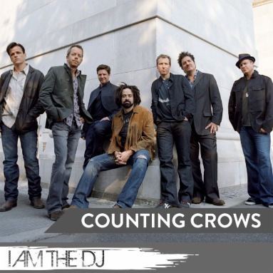 'I Am The DJ: Counting Crows' Station  on Slacker Radio