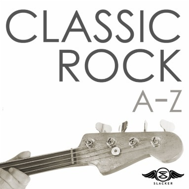 'Classic Rock A-Z' Station  on Slacker Radio