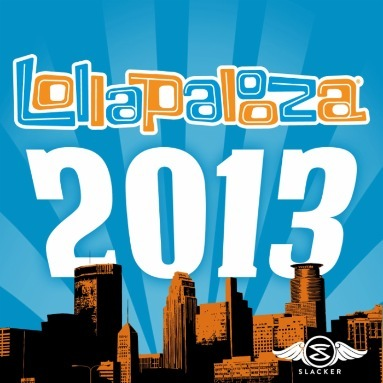 'Lollapalooza 2013' Station  on Slacker Radio