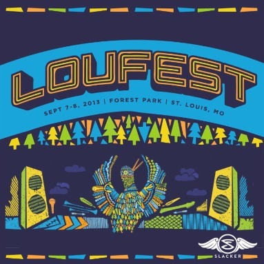 'LouFest 2013' Station  on Slacker Radio