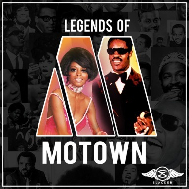'Legends Of Motown' Station  on Slacker Radio