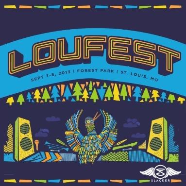 'LouFest 2013' Station  on Slacker Radio