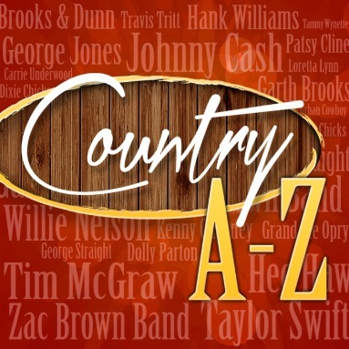 'Country A-Z' Station  on Slacker Radio