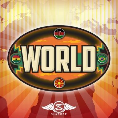 'World' Station  on Slacker Radio