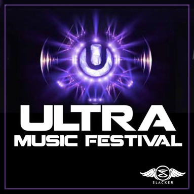 'ULTRA Music Festival' Station  on Slacker Radio